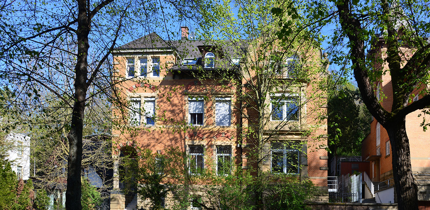 Villa in der Hasenbergsteige in Stuttgart West